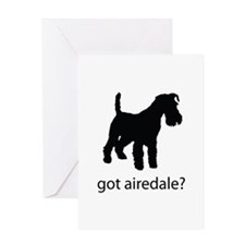 got airedale? Greeting Card