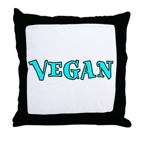 Vegan Throw Pillow