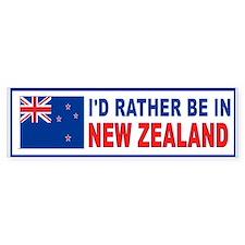NEW ZEALAND BUMPER_001 Bumper Stickers