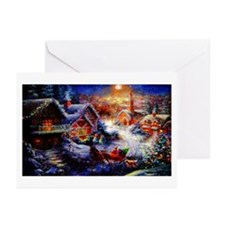 Bringing Home The Christmas T Greeting Cards (Pk o