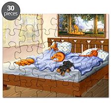 Sleeping Dachshunds Puzzle