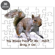 Cute Brown Squirrel Puzzle