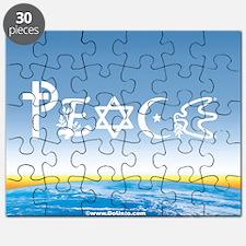 Peace On Earth at Sunrise Puzzle