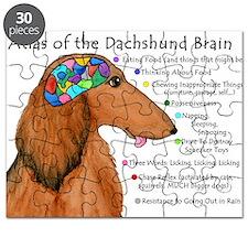 Dachshund Brain (long) Puzzle