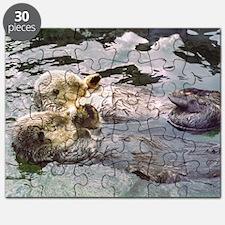 Sea Otter Love Puzzle