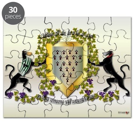 Greyhound Coat of Arms Poster D (small)