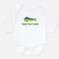 Customizable Dorado Long Sleeve Infant Bodysuit