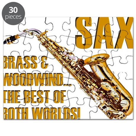 Sax - The Best of Both Worlds Puzzle