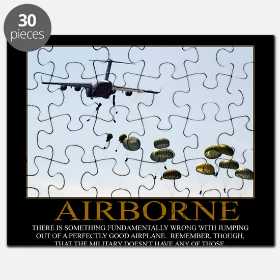 Airborne Motivational Puzzle