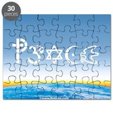 Peace-OM on earth Day Puzzle