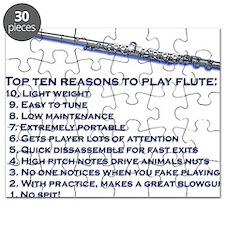 Flute Top 10 Puzzle