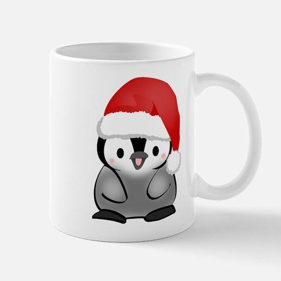 Cute Holiday Penguin Mug