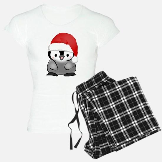 Cute Holiday Penguin Pajamas