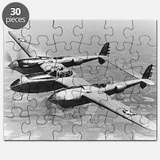 P-38 Lightning Puzzle