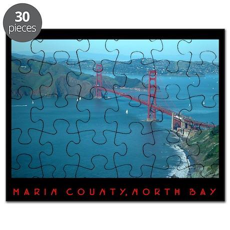 aerial golden gate bridge - Puzzles