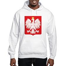 Polish Eagle Red Shield Hoodie