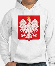 Polish Eagle Red Shield Hoodie