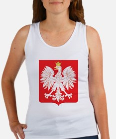 Polish Eagle Red Shield Women's Tank Top