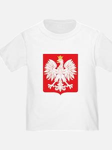 Polish Eagle Red Shield T
