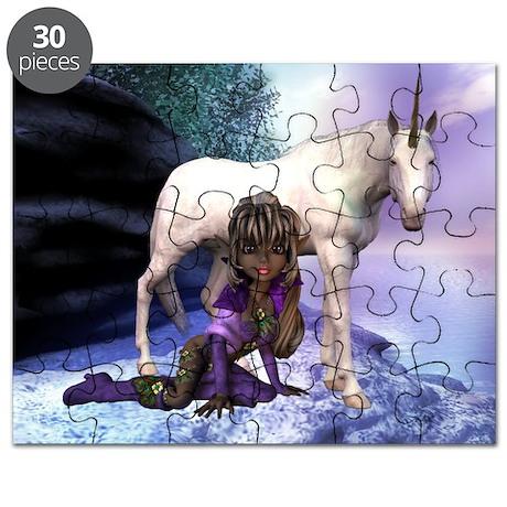 Purple Rider Puzzle