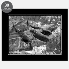 P38 Lightning Composite 16x20 Poster