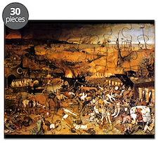 Triumph of Death by Brueghel 20x16 Poster