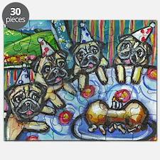 Pug Birthday bash Puzzle