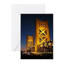 Sacramento Bridge Greeting Cards (Pk of 10)