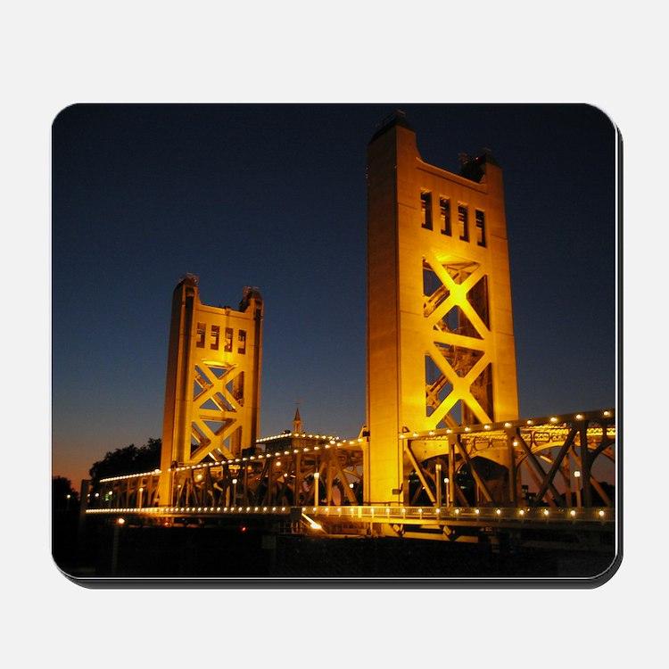 Sacramento Bridge Mousepad