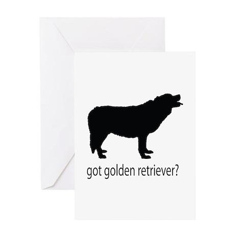 got golden retriever? Greeting Card