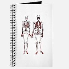 Funny Girly skull Journal