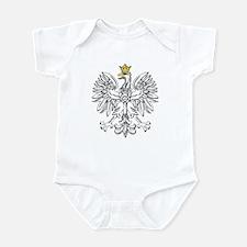 Polish Eagle With Gold Crown Infant Bodysuit