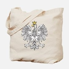 Polish Eagle With Gold Crown Tote Bag
