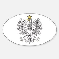Polish Eagle With Gold Crown Decal