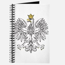 Polish Eagle With Gold Crown Journal