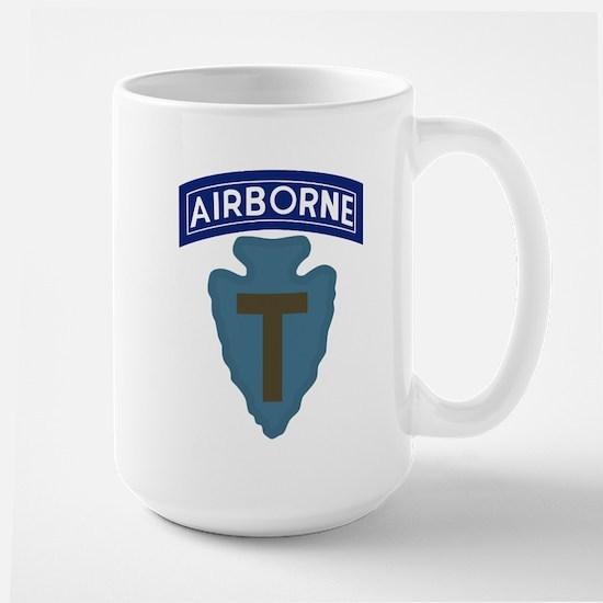 71st Airborne Large Mug