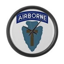 71st Airborne Large Wall Clock