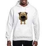 Big Nose Border Terrier Hooded Sweatshirt