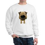 Big Nose Border Terrier Sweatshirt