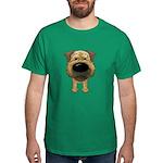 Big Nose Border Terrier Dark T-Shirt