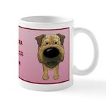 Border Terrier Mom Big Nose Mug