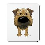 Big Nose Border Terrier Mousepad