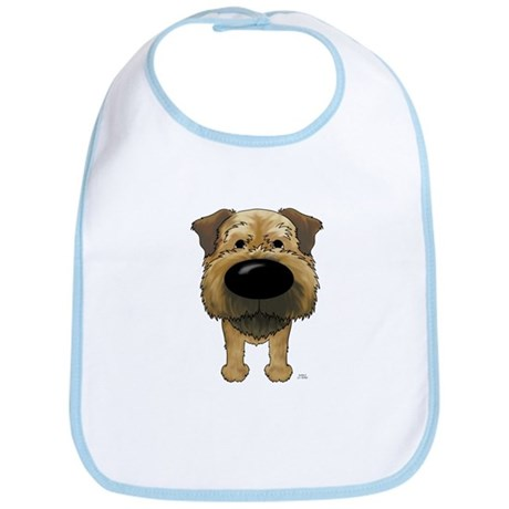 Big Nose Border Terrier Bib