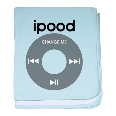 iPod is iPood baby blanket