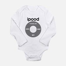 iPod is iPood Long Sleeve Infant Bodysuit