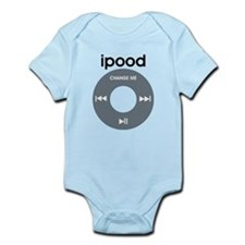 iPod is iPood Infant Bodysuit