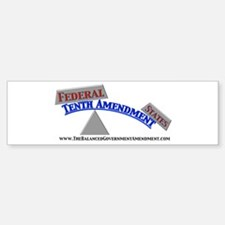 Balanced Government (Bumper Sticker)