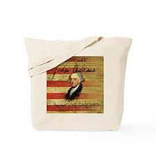 John Adams 1800 Campaign Tote Bag
