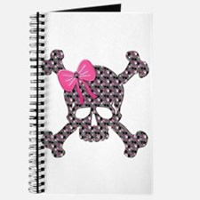 Unique Girly skull Journal