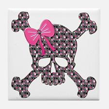 Skulls Tile Coaster